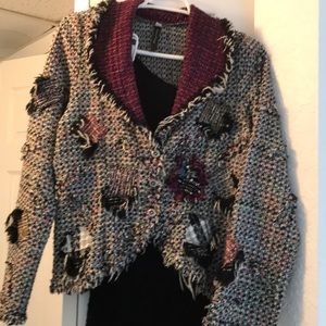Look by Nothing Matches 2pc Boucle Skirt&Jacket-M